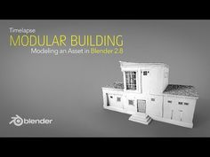MartinKlekner writes: Hello friends, lately I was asked to share more of my timelapse recordings, so that's what I am doing today – I've documented one of my modeling workflows for part of my modular building asset collection. Blender 3d, Blender Models, Free 3d Modeling Software, Free Cad Software, Modeling Tips, 3d Computer Graphics, Blender Tutorial, 3d Tutorial, Motion Design