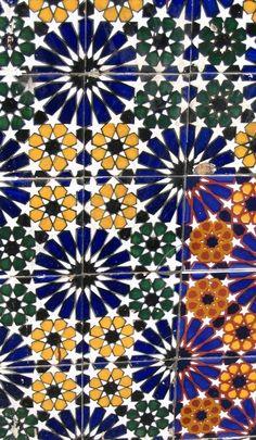 Islamic tile design