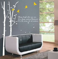 Always Laugh When You Can Wall Sticker
