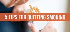Unique strategies and tips for quitting smoking!