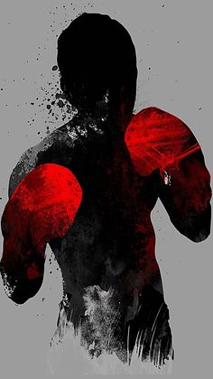 """""""Striker: Boxing, Muay Thai Kickboxing, MMA T-shirt"""" Posters by PhenomTees Red Wallpaper, Iphone Wallpaper, Wallpaper Wallpapers, Muay Thai, Boxe Fight, Trash Polka Tattoos, Boxe Fitness, Boxing Tattoos, Boxing Images"""