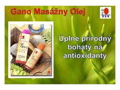 DXN Gano Massage Oil - DXN gano masážny olej Gano Massage Oil contains the finest palm oil and Ganoderma extract suited for every massage need. It is all-natur…