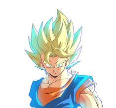 Dragon Ball Z, Dragon Ball Image, Akira, Gogeta And Vegito, Anime Sketch, Animes Wallpapers, Anime Characters, Anime Art, Character Design