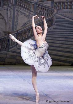 Liudmilla Konovalova, Principal Dancer with Vienna State Opera Ballet. Photo ©  Gene Schiavone.