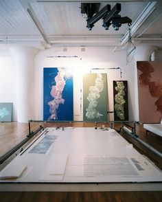 James Nares' art studio