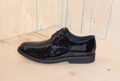 Yom Kippur Shoes for Men: Aponi Black Patent by Good Guys... For a classic black shoe with a little more sheen, the Aponi is indistinguishable from regular synagogue shoes, which might attract confused stares from the rest of the congregation. You'll have to explain to each critic that, no, these are not made of genuine patent leather, and yes, God already knows that and has forgiven you. These are ideal Yom Kippur shoes for men. #yomkippur #yomkippurshoes
