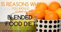 15 Reasons why you should start a blended food diet today - #16, GASTROPARESIS! Harder in winter but good recipes for blender soups as well as smoothies. Peel fruit & veg unless you have Vitamix or Blendtec. PRECOOK grains for Green Thickies (do a big batch & fridge or freeze in ice cube tray; quinoa is good), steam & freeze veg like carrot, beet, & sweet potato, & freeze greens so they break down better. Many GPers do gain weight but can adjust recipes to raise calories.
