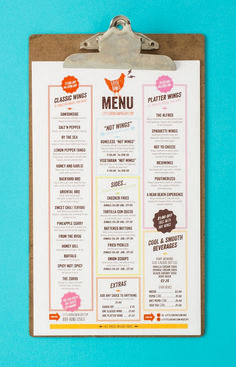 Little bones menu design - one plus one design menus дизайн меню, дизай Menue Design, Food Design, Design Ideas, App Design, Creative Design, Design Inspiration, Healthy Foods To Eat, Healthy Dinner Recipes, Wings Menu