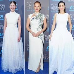 ClippingBook - Critics Choice Awards 2015, Best Dressed, Movies, Award Show Best Dressed, White gowns