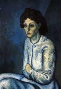 Femme aux Bras Croisés - Pablo Picasso