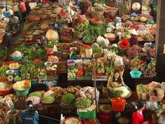 Central indoor market, Dalat