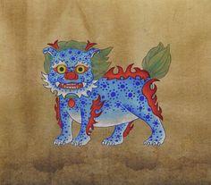 귀여운 민화 해태 모음 (부천 민화화실 제이아트갤러리) : 네이버 블로그 Korean Painting, Chinese Painting, Chinese Art, Japan Tattoo, Tiger Art, Korean Art, Japan Art, Art Club, Illustrations