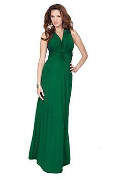cdb647f8e6 Seraphine Jo Knot Front Maternity And Nursing Maxi Dress at Amazon Women s  Clothing store