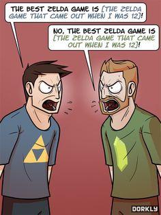 The Definitive Zelda Argument