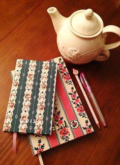 Agendas com capa de tecido
