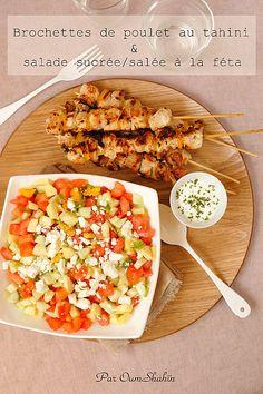 brochettes de poulet tahi