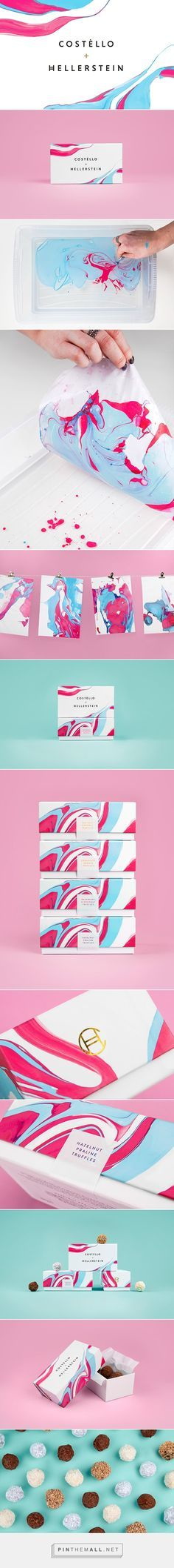 Costello & Hellerstein packaging designed by Robot Food // would also look good for soap//bath bomb packaging