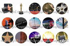 Hollywood Bottle Cap Images