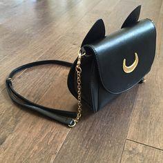 Sailor Moon - Luna inspired shoulder bag
