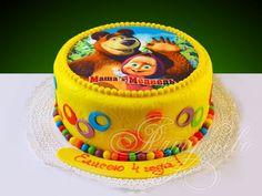 74 картинки по запросу «торт с картинкой маша и медведь»