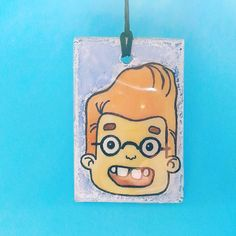 Cartoon Patterned Pendant Etsy listing at https://www.etsy.com/listing/518571888/pendant-necklace-jewelry-caracter-resin