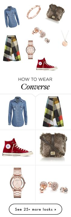 """You ready!!!"" by jade1152 on Polyvore featuring Preen, Converse, GUESS, Kate Spade, CC SKYE and Marc by Marc Jacobs"