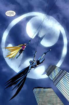 Batman and Robin (2009) Issue #21 - Dick Grayson as Batman, Damian Wayne as Robin