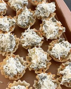3 Easy Appetizers Using Phyllo Cups - Crisp Collective Phyllo Appetizers, Phyllo Recipes, One Bite Appetizers, Finger Food Appetizers, Holiday Appetizers, Appetizer Dips, Yummy Appetizers, Appetizer Recipes, Appetizers Easy Cold