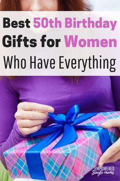 Awesome Ideas For 50th Birthday Gifts Women You Will Love These If Are Looking A Gift Your Best Friend Mom Sister Or Partner