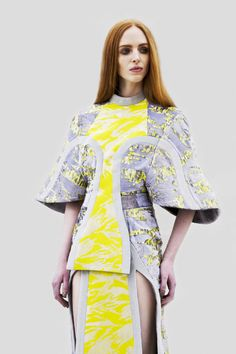 Modeconnect.com - Fashion collection by CSM print student Lily Attwood