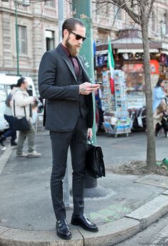 Justin O'Shea #fashion #streetstyle #menswear #style #moda #mode #men #homen