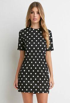 Textured Polka Dot Dress | Forever 21 | #foreveryou