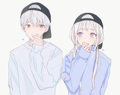 Anime Bebe, Emo Anime Girl, Anime Cupples, Kawaii Anime, Anime Girl Drawings, Anime Couples Drawings, Anime Couples Manga, Friend Anime, Anime Best Friends