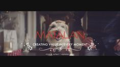Creating Value in Every Moment - Matalan Christmas Advert 2017