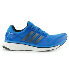 Adidas Men's Energy Boost 2 M Solar Blue Running Shoes F32250 NEW!