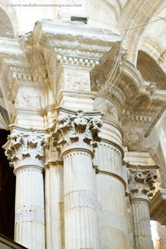 Under the Andalusian Sun food, wine and travel blog: Cádiz Cathedral - Grand Designs project that took six architects and 116 years to finish