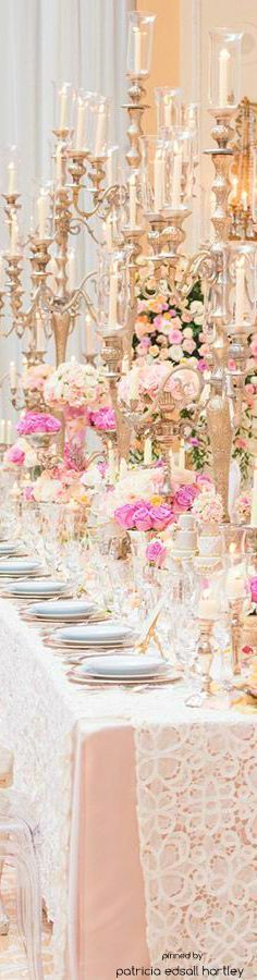 Gorgeous wedding decor.