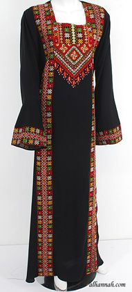 Deluxe Embroidered Palestinian Fellaha Dress