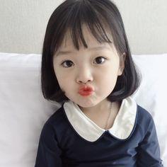 Cute Little Baby, Cute Baby Girl, My Little Girl, Little Babies, Baby Love, Baby Kids, Cute Asian Babies, Korean Babies, Asian Kids