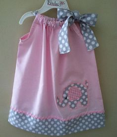 For my niece Payton who loves elephants!! She would look adorable in this!