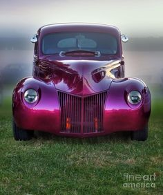 Belos Automóveis Antigos by Daniel Alho / Burgundy Buggy