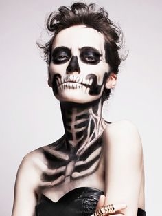 I love when folks get so creative...8 Terrifyingly Beautiful Halloween Looks You Have to See to Believe