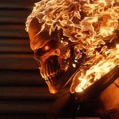Can we just take a moment and appreciate the fact that we got that good looking ghost rider on our own little tv show. Marvel Comics, Marvel Art, Marvel Avengers, Ms Marvel, Captain Marvel, Marvel Heroes, Ghost Rider Shield, Ghost Rider Marvel, Ghost Rider Wallpaper