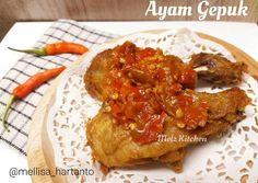 Ayam Gepuk (Sambal Budeg)