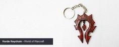 #DIY Horde Keychain - Chaveiro da Horda  World of Warcraft | Cake Lie Blog