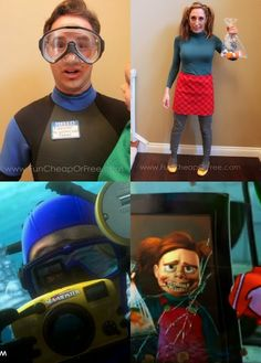 DIY Finding Nemo Costumes! Plus 6 tips for getting Halloween costumes for dirt cheap. #halloween #costumes #findingnemo #diy