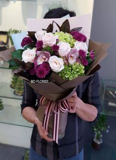Beautiful Bouquet Of Flowers, Beautiful Flower Arrangements, Flowers Nature, Fresh Flowers, Floral Arrangements, Beautiful Flowers, Gift Bouquet, Bouquet Wrap, Hand Bouquet