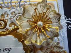 by Martine. using the New Arrianna Blooms Collection from Heartfelt Creation