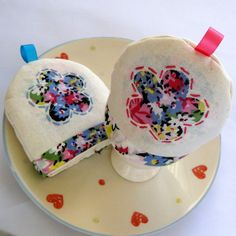 Bright Floral Egg Cosy Pair by FantooshbySonia on Etsy, £10.00