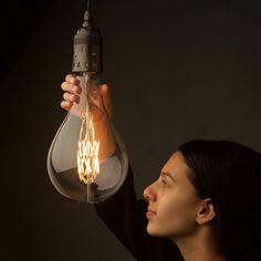 huge Edison bulb.  the catch? LED.  FINALLY.